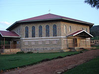 Church in Rushooka, Uganda