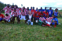 Ljerka and Croatian Team Kivumu