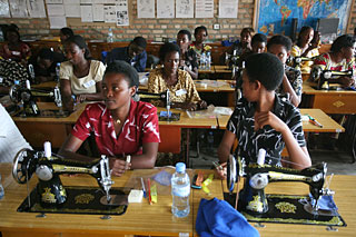 two-week training course for tailoring teachers