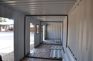 inside the Bibliocontainer
