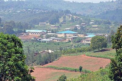 Krajolik u Ruandi
