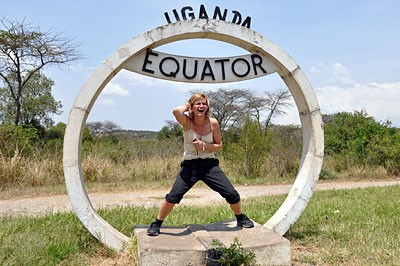 Uganda - the line of the equator