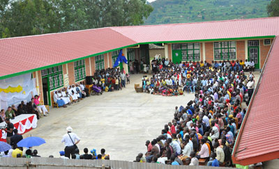 Blessing of the First Phase of St. Francis Technical Secondary School Construction