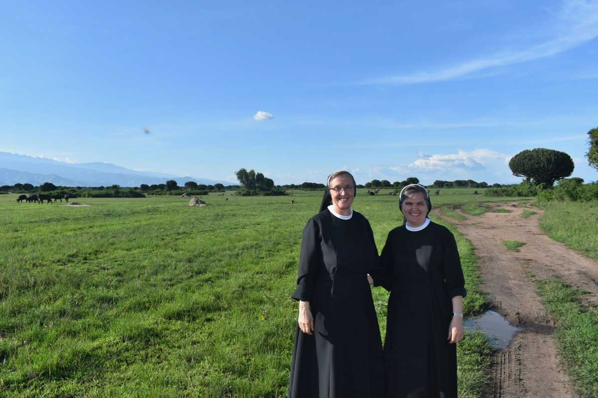 A Visit from the Franciscan Sisters from the Province of Bosnia & Croatia