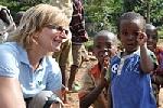 Sandra in Rwanda