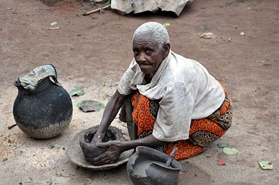Margarette Mushoga is more than 100 years old