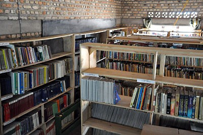 Temporary School Library